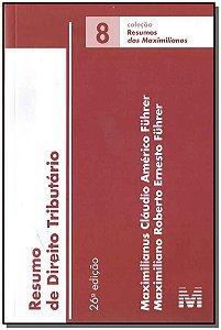 Resumo (08) Direito Tributario - 26Ed/17