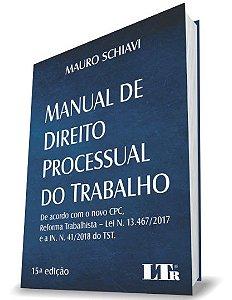 Manual de Direito Processual do Trabalho