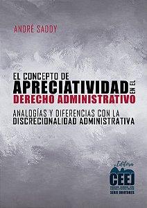 El concepto de apreciatividad en el Derecho administrativo