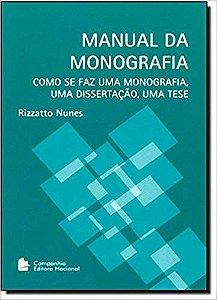 MANUAL DA MONOGRAFIA