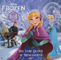 Frozen: Meu Livro Gigante De Brincadeiras