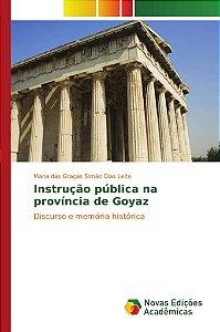 Instrução pública na província de Goyaz