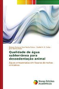 Qualidade de água subterrânea para dessedentação animal