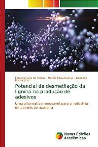 Potencial de desmetilação da lignina na produção de adesivos