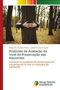 Protocolo de Avaliação do nível de Preservação das Nascentes