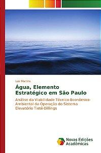 Água; Elemento Estratégico em São Paulo