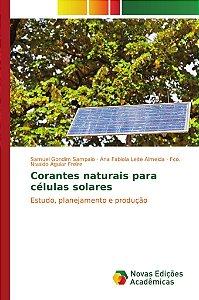 Corantes naturais para células solares