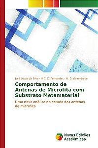 Comportamento de Antenas de Microfita com Substrato Metamate