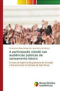A participação cidadã nas audiências públicas de saneamento