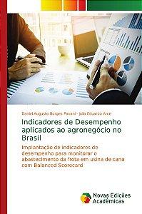Indicadores de Desempenho aplicados ao agronegócio no Brasil