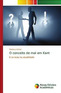 O conceito de mal em Kant