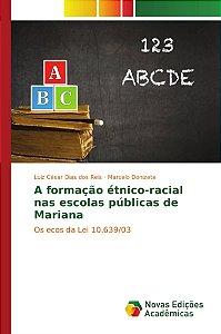 A formação étnico-racial nas escolas públicas de Mariana