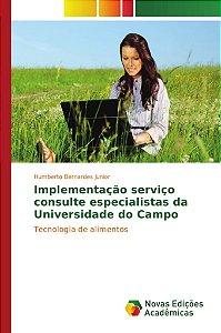Implementação serviço consulte especialistas da Universidade