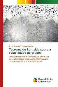 Teorema de Burnside sobre a solubilidade de grupos