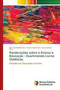 Ponderações sobre o Ensino e Educação : Examinando Livros Di