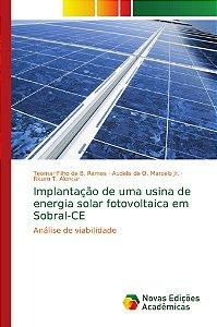 Implantação de uma usina de energia solar fotovoltaica em So