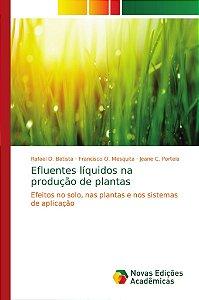 Efluentes líquidos na produção de plantas
