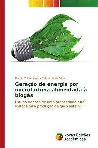 Geração de energia por microturbina alimentada à biogás