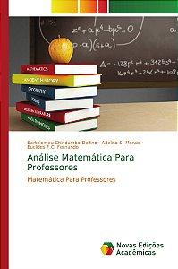 Análise Matemática Para Professores