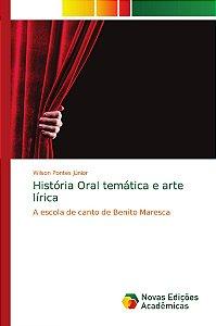 História Oral temática e arte lírica