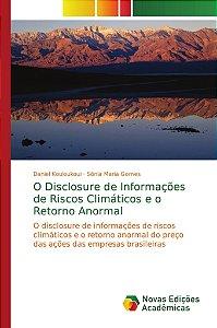 O Disclosure de Informações de Riscos Climáticos e o Retorno