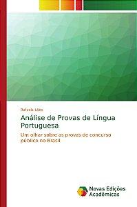 Análise de Provas de Língua Portuguesa