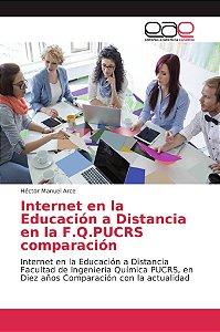 Internet en la Educación a Distancia en la F.Q.PUCRS compara