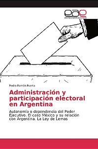 Administración y participación electoral en Argentina