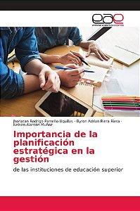 Importancia de la planificación estratégica en la gestión