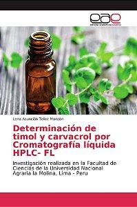 Determinación de timol y carvacrol por Cromatografía líquida