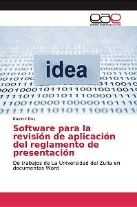 Software para la revisión de aplicación del reglamento de pr