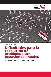 Dificultades para la resolución de problemas con ecuaciones