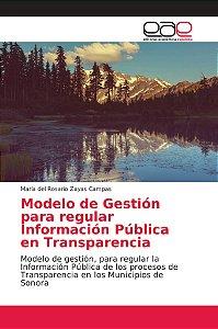 Modelo de Gestión para regular Información Pública en Transp