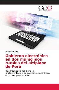 Gobierno electrónico en dos municipios rurales del altiplano