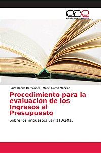 Procedimiento para la evaluación de los Ingresos al Presupue
