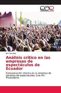 Análisis crítico en las empresas de espectáculos de Ecuador