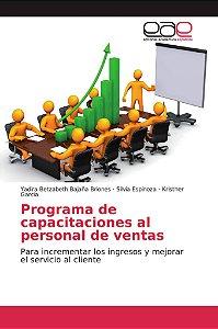 Programa de capacitaciones al personal de ventas
