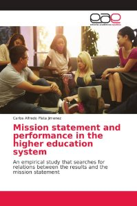 Mission statement and performance in the higher education sy