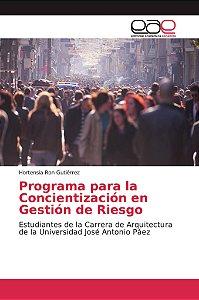 Programa para la Concientización en Gestión de Riesgo