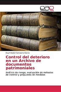Control del deterioro en un Archivo de documentos patrimonia