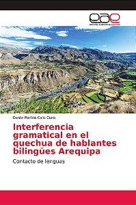 Interferencia gramatical en el quechua de hablantes bilingüe