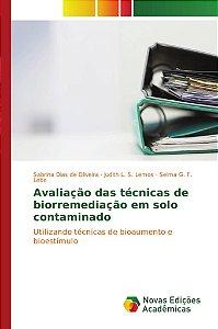 Avaliação das técnicas de biorremediação em solo contaminado