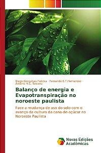 Balanço de energia e Evapotranspiração no noroeste paulista