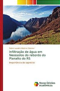 Infiltração de água em Neossolos do rebordo do Planalto do R