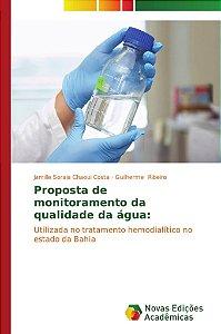 Proposta de monitoramento da qualidade da água: