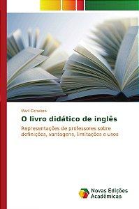 O livro didático de inglês