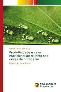 Produtividade e valor nutricional de milheto sob doses de ni