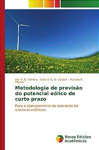 Metodologia de previsão do potencial eólico de curto prazo