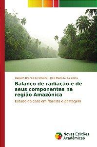 Balanço de radiação e de seus componentes na região Amazônic