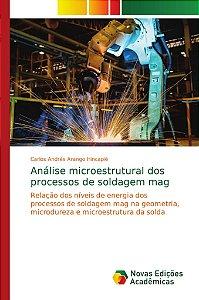 Análise microestrutural dos processos de soldagem mag